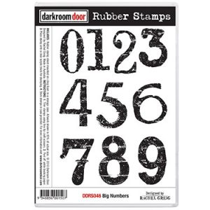 *Alphabet & Numbers Stamps