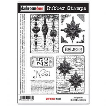 Darkroom Door Rubber Stamp Set – Noël