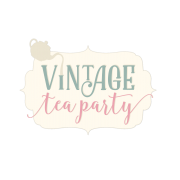 *New Sara Signature Collection Vintage Tea Party